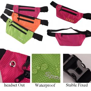 BDKV4075- Sport Running Belt Waterproof Fanny Waist Pack Bag