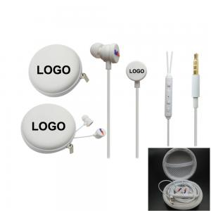 BDCC1047 Earbuds with Zipper Case