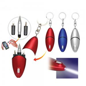 BDCC1111- Keychain Tool Pen with Led Light