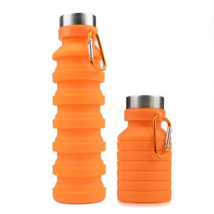 BDCC1140- Silicone Collapsible Water Bottle