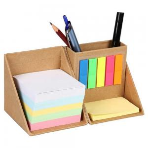 BDCC1127- Stationary Foldable Paper Cube with Pen Stand and Memo Notes