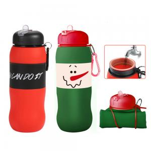 BDCC1180- Silicone Full Custom Water Bottle