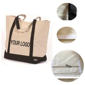 BDBN3094-Heavy Duty Cotton Canvas Tote Bag